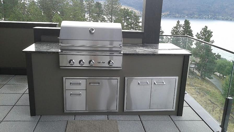 outdoor kitchens stonecast impressions